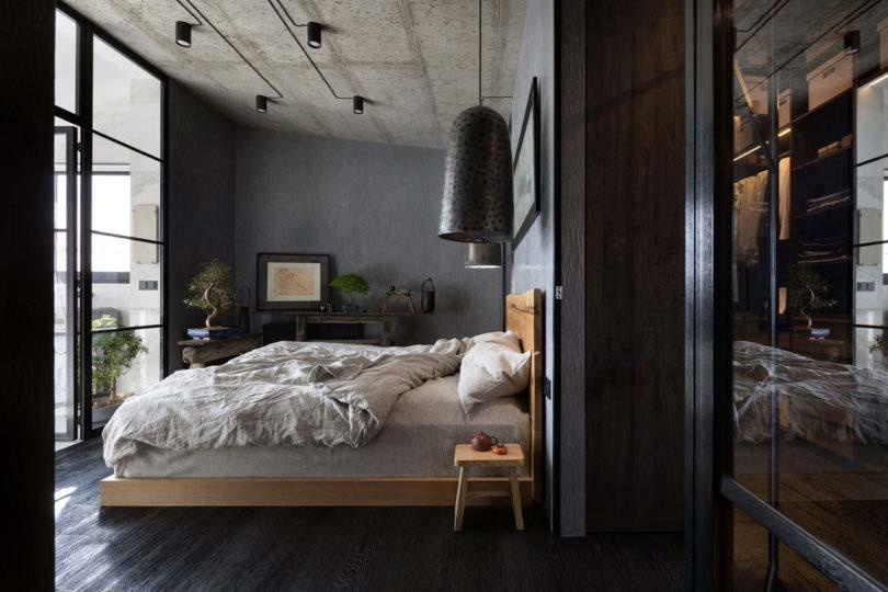 slaapkamer bonsai boom