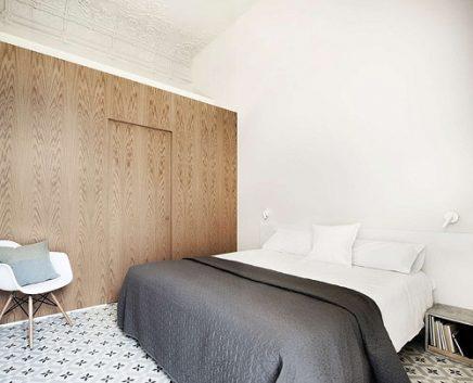 Slaapkamer cementtegels Barcelona