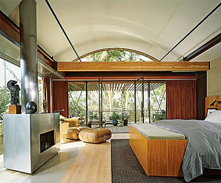 Slaapkamer van Demi Moore