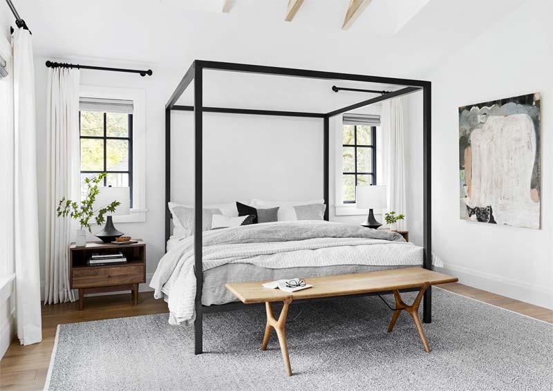 slaapkamer gordijnen op maat