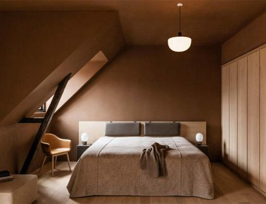 slaapkamer hotel the audo