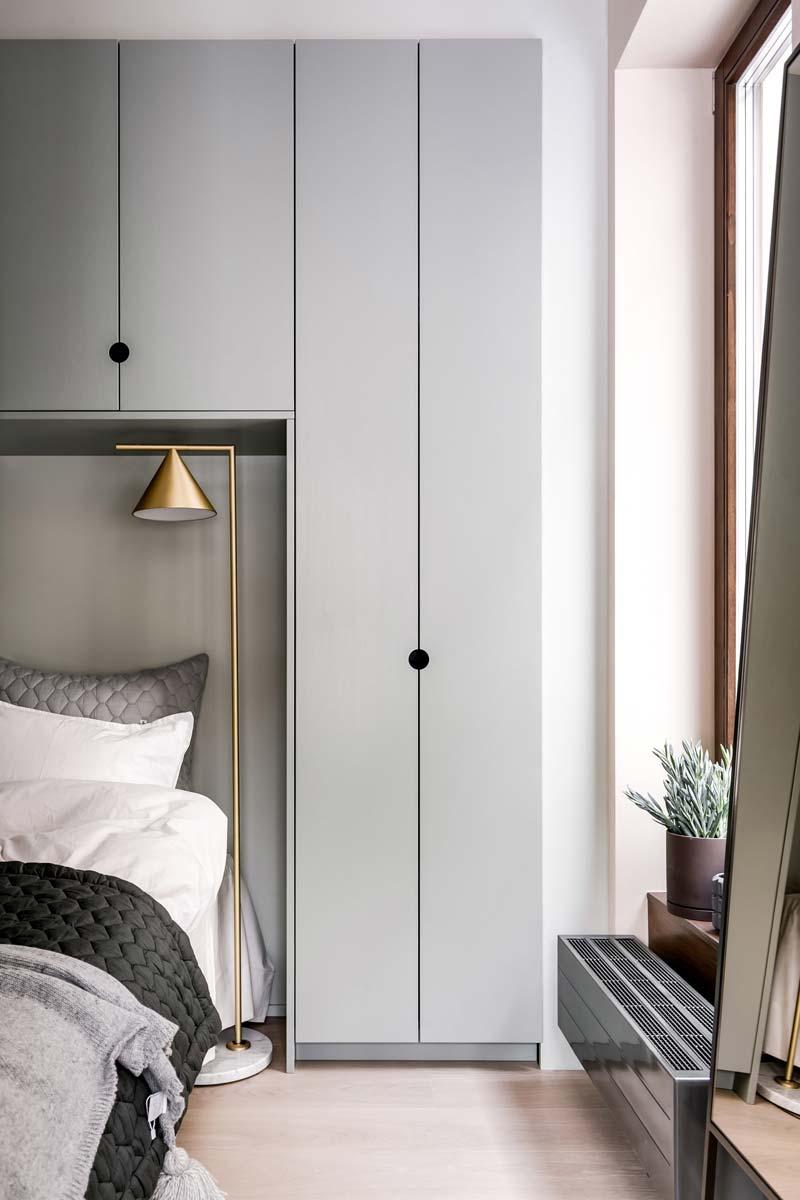 slaapkamer hotelsfeer maatkast