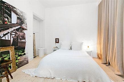 Slaapkamer ideeën van stijlvol appartement Stockholm