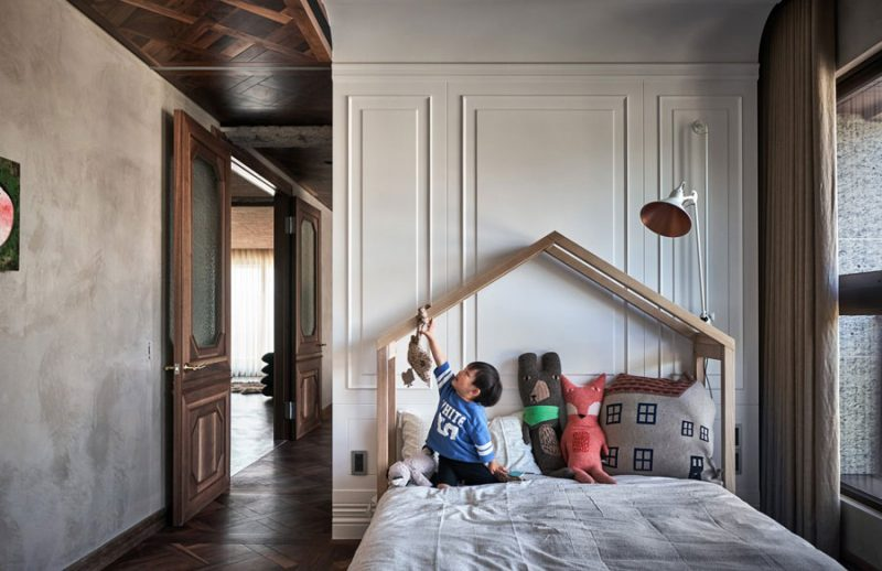 Slaapkamer, inloopkast én kinderkamer gecombineerd!