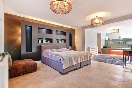 Slaapkamer maisonnette met luxe inrichting | Inrichting-huis.com