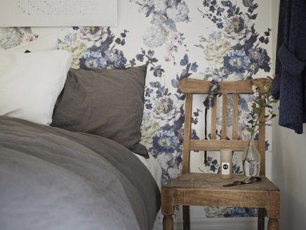 Behang Voor De Slaapkamer: Mini slaapkamer make over homecrush. Foto ...