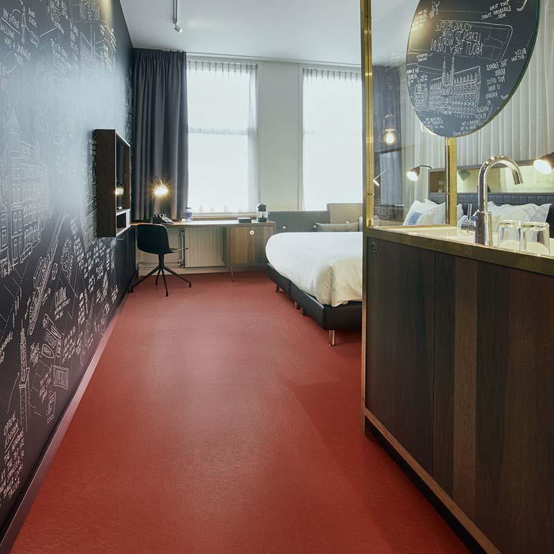 slaapkamer met mamoleum