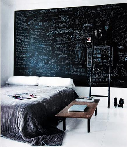 Slaapkamer van modeontwerpster Hanne Graumann