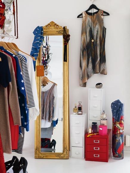 Slaapkamer of kledingkast  Inrichting-huis.com