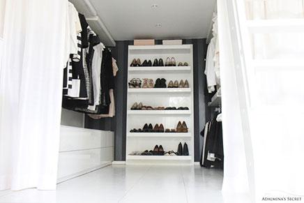 Slaapkamer op inloopkast  Inrichting-huis.com
