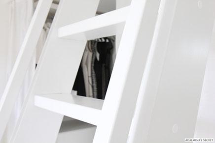 Slaapkamer op inloopkast