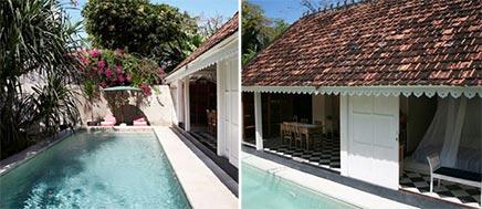 Slaapkamer Pandan House Bali