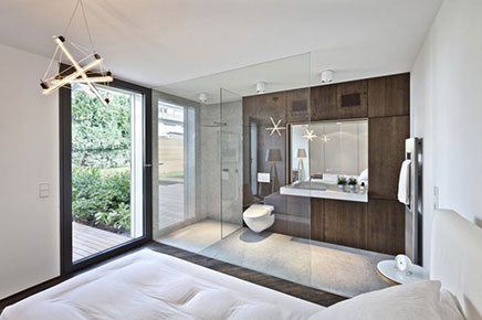 Slaapkamer met sfeer van een designhotel | Inrichting-huis.com