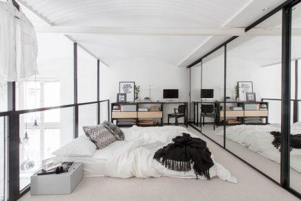 Slaapkamer spiegeldeuren