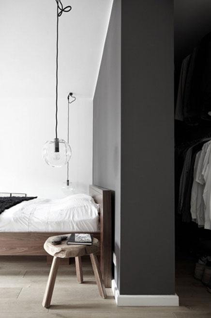 Slaapkamer van stylist Wolfgang Neugebauwer