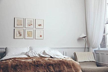 Slaapkamer van The Apartment New York