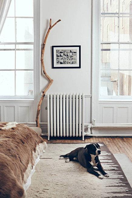 Slaapkamer van The Apartment New York   Inrichting huis com