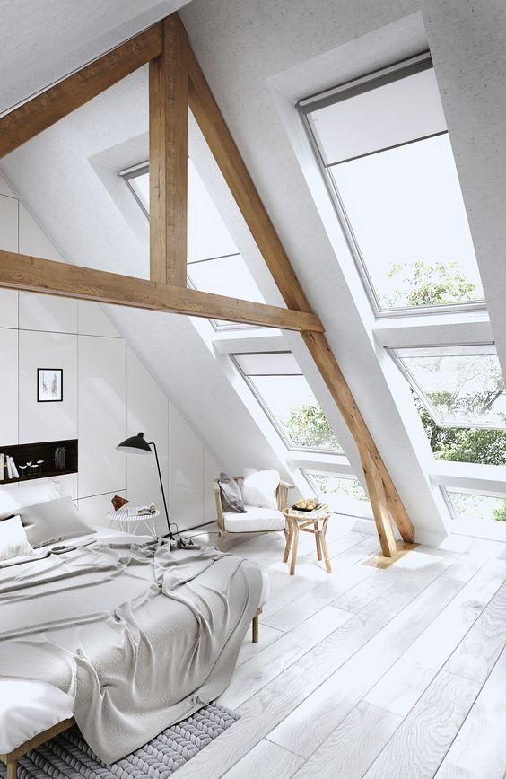 Slaapkamer velux dakramen