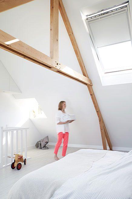 Slaapkamer verbouwing op zolder  Inrichting-huis.com