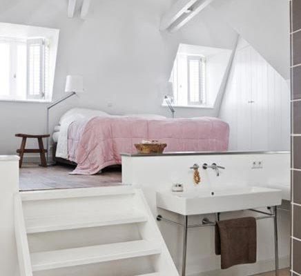Slaapkamer woonboerderij Coby