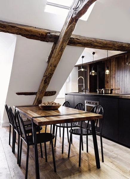 Slim en mooi ingericht klein appartement uit parijs inrichting - Stoel tuin leroy merlin ...