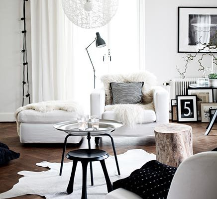 Smaakvolle woonkamer van interieurstylist Daniella Witte