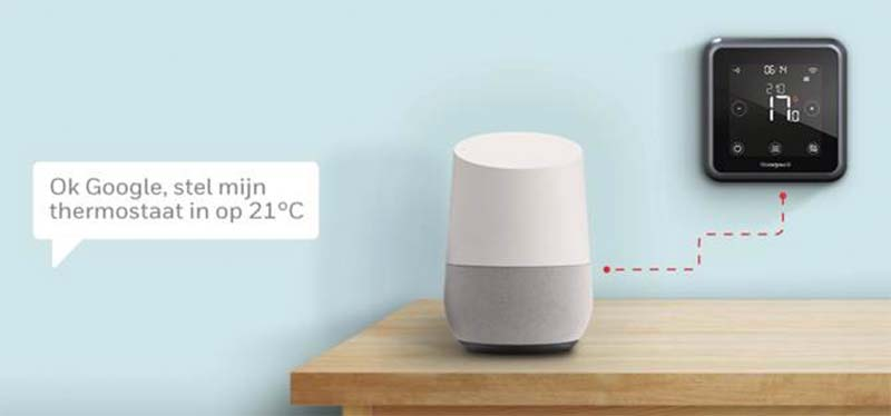 smart home honeywell thermostaat