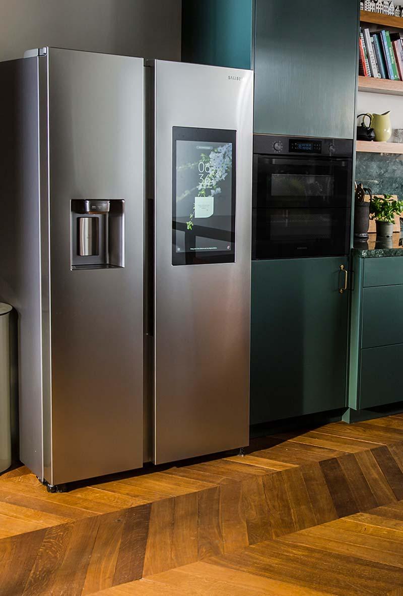 smart home koelkast samsung