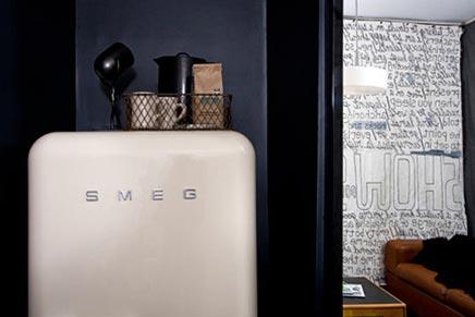 Smeg koelkast inrichting for Interieur frigo smeg