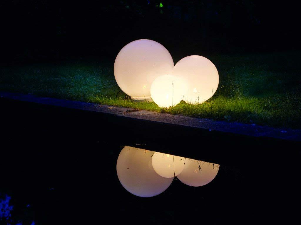 solar tuinverlichting glazen bol