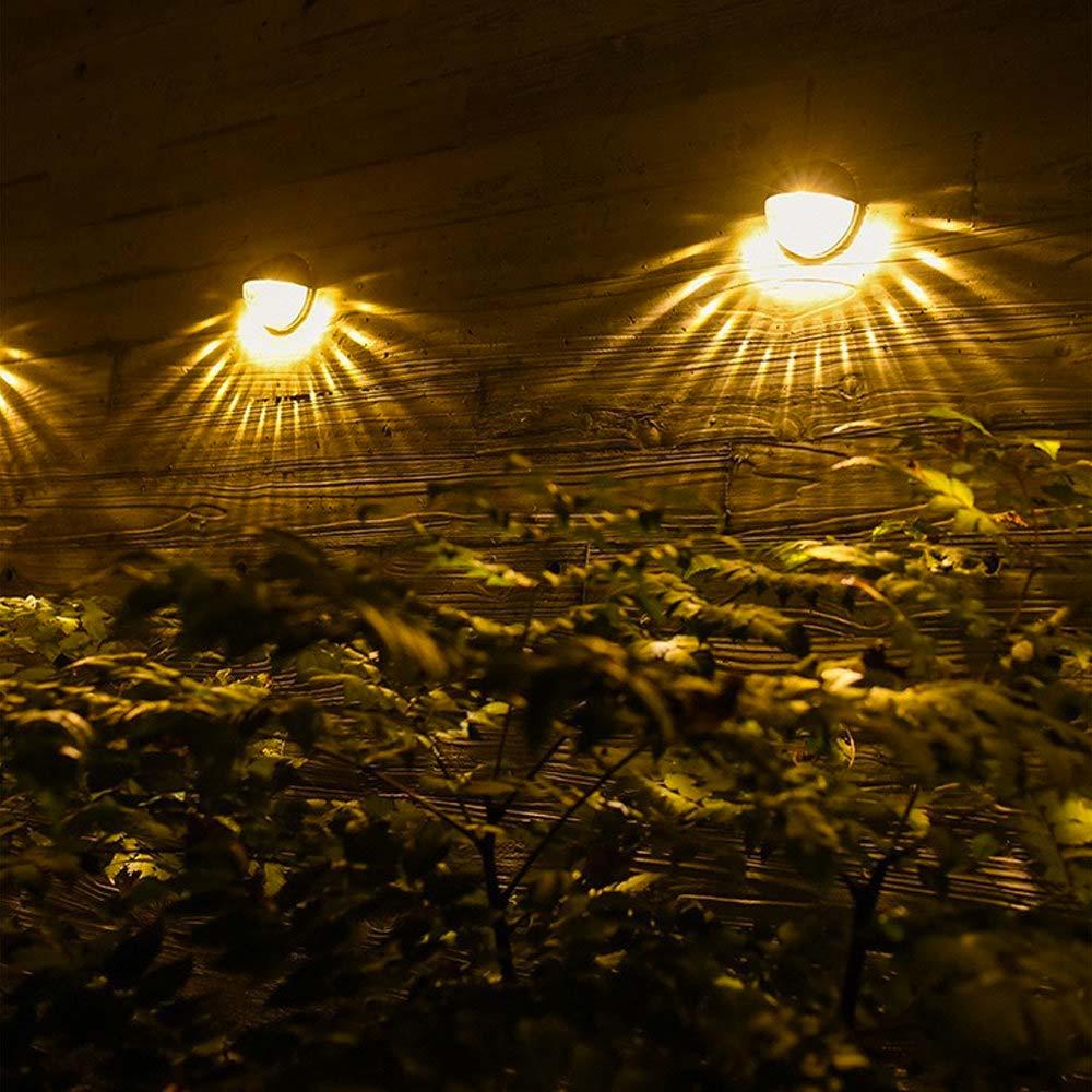 solar tuinverlichting voordelen wandlampen schutting
