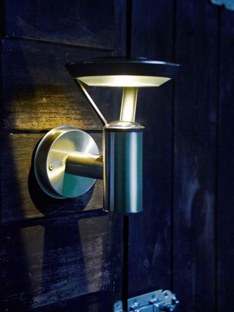 Solar tuinverlichting wandlamp