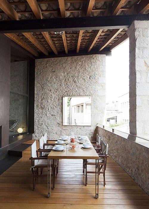 Spaans balkon van middeleeuws herenhuis inrichting for Inrichting huis modern