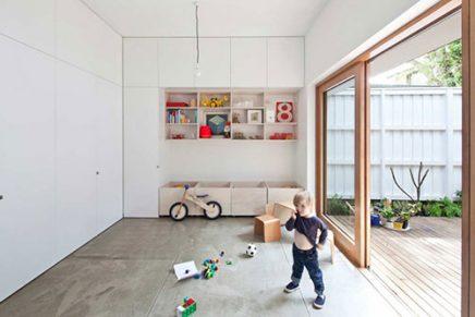 Speelhoek in de woonkamer inrichting for Mezzanine in de woonkamer