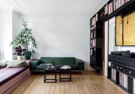 Speels en multifunctioneel appartement van interieurarchitecten Nikoline en Svend