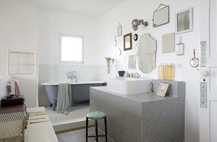 Speelse badkamer van Egmond