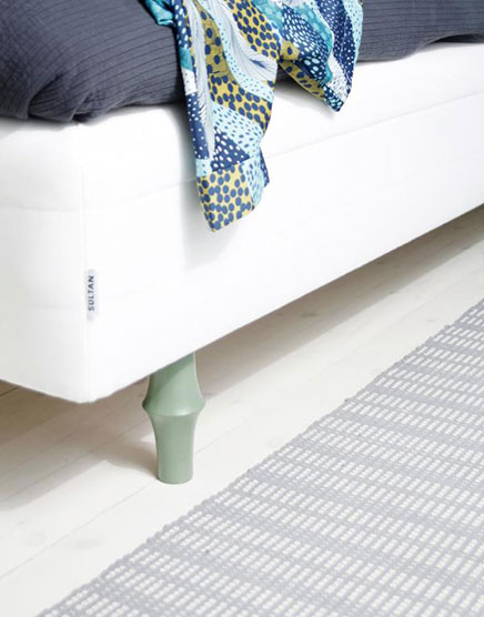 Playful legs for IKEA sofas and beds