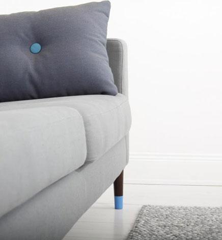 Speelse pootjes voor IKEA banken en bedden