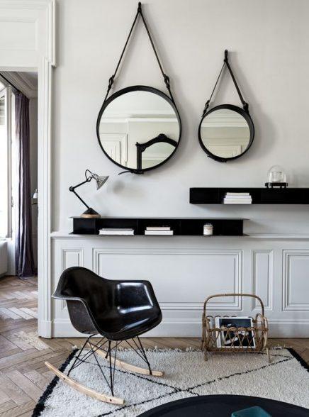 Spiegel collage inrichting - Spiegel in de woonkamer ...