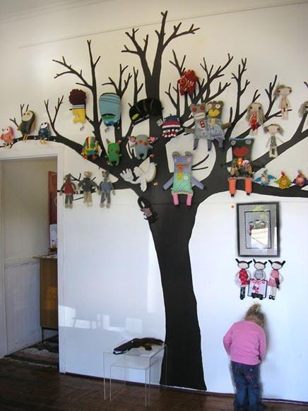 Sprookjesboom für den Kinderzimmer