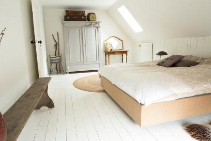 Stadsboerderij slaapkamer