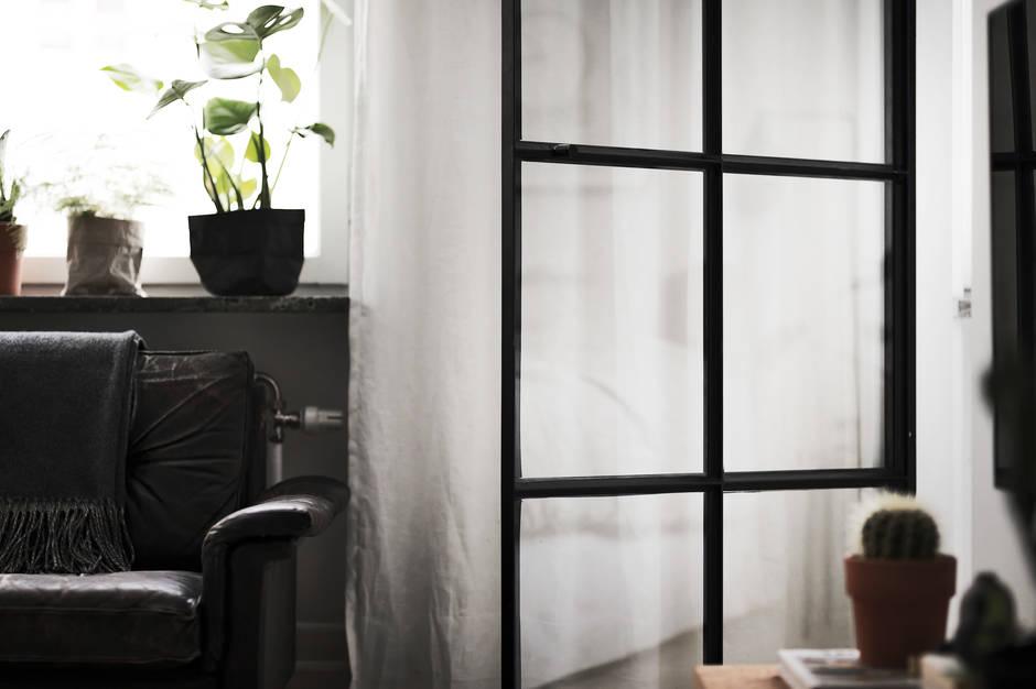 stalen-deur-wookamer-slaapkamer
