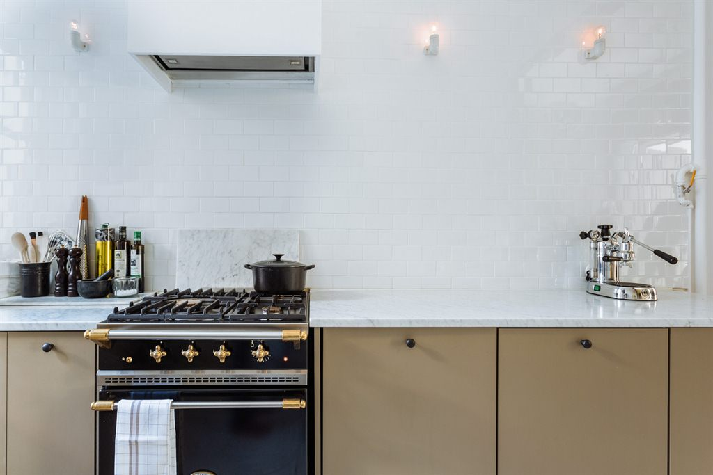 De stijl van de Scandinavische keukens