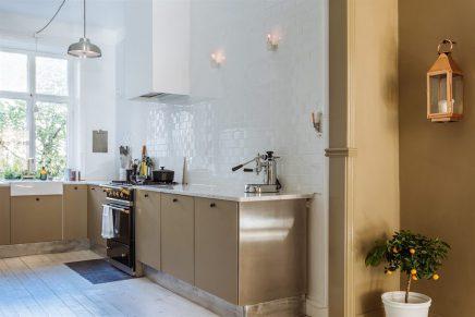 De stijl van de scandinavische keukens inrichting - Scandinavische kleur ...