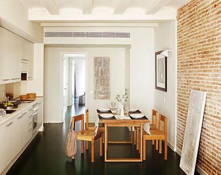 Stijlvol ingericht klein appartement in Barcelona