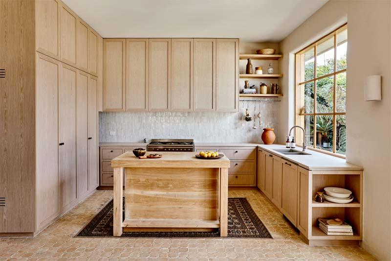 stijlvolle rustieke houten keuken