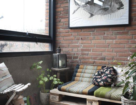 Stoer inpandig balkon