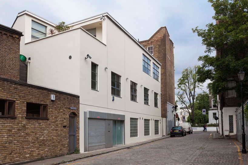 Stoer studio kantoor aan huis van ontwerper en architect