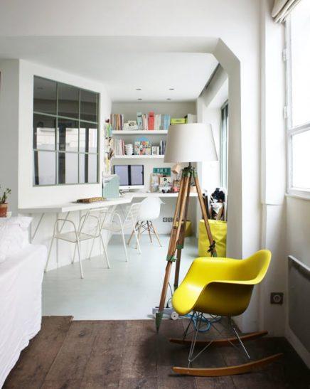 Stoer vintage appartement van grafisch ontwerpster zo uit for Interieur zoe