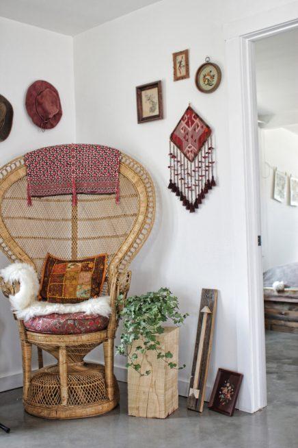 Stoere bohemien bungalow